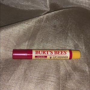🛍Burts's Bee raisin lip shimmer new